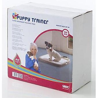 Puppy Trainer Refill 100 Pads middellange 45x30cm