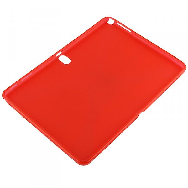 Red cover case for Samsung Galaxy touch 10.1 P600 P605 LTE + foil