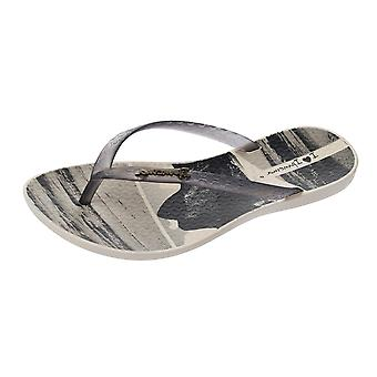 Ipanema Wave Tropical Womens Flip Flops / Sandals - Beige
