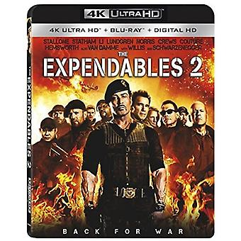 Expendables 2 [Blu-ray] USA import