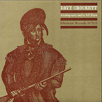 Bill Hayes - Davy Crockett Autobiography Read by Bill Hayes [CD] USA import
