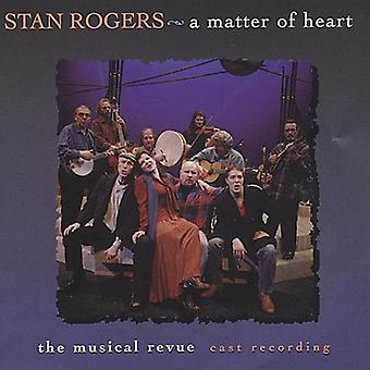 Stan Rogers - kwestie of Heart [CD] USA import