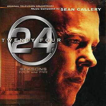 Various Artists - 24: Seasons 4 & 5 [Original Television Soundtrack] [CD] USA import