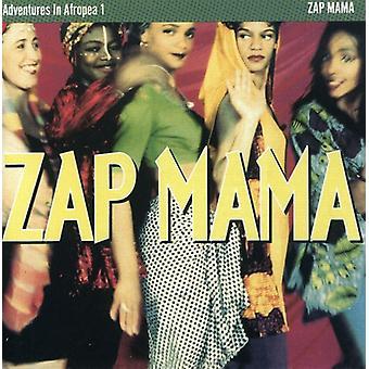 ZAP Mama - Zap Mama: Vol. 1-eventyr i Afropea [CD] USA import