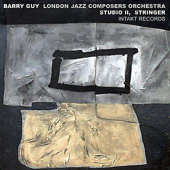 Barry Guy - London Jazz komponister orkester undersøgelse II Stringer [CD] USA import