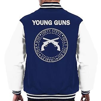 Young Guns Ramones Logo Men's Varsity Jacket