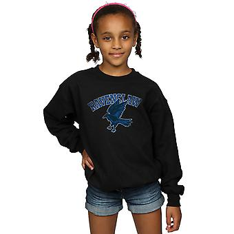 Harry Potter jenter Ravenclaw Sport Emblem Sweatshirt