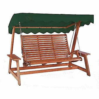 Alexander Rose Mahogany Swing Seat with Canopy