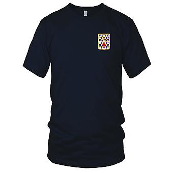 US Army - 16th Infantry Regiment Embroidered Patch - Ladies T Shirt