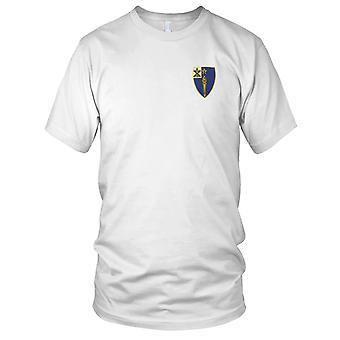 US Army - 46th Infanteriregiment brodert Patch - damer T skjorte