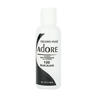 Creative Image Adore Shine Semi-Permanent Color 130 Blue Black 118ml