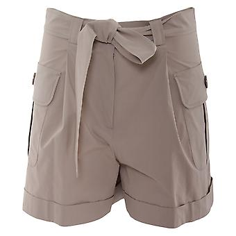 Boutique Moschino Damen A031983581 Braun Baumwolle Shorts