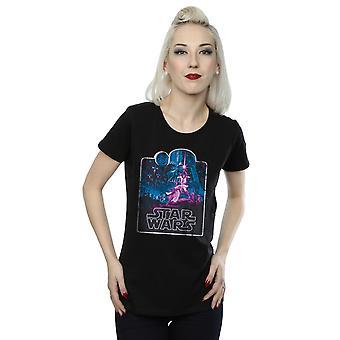 Star Wars Women's Movie Montage T-Shirt