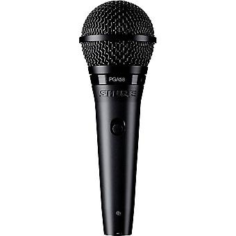 Handheld Microphone set Shure PGA58BTS Transfer type:Corded incl. cable, incl. stand, incl. bag