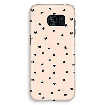 Samsung S7 Edge Full Print Case - Little cats