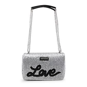 Love Moschino Women Shoulder bags Grey