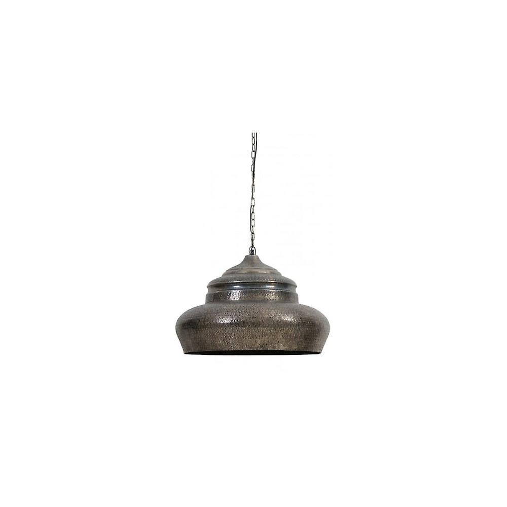 Lumière & vie suspendus pendentif lampe D60x42cm Cyrille noir Pearl