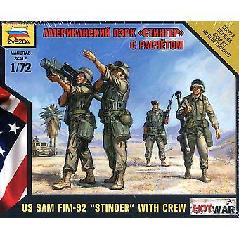 Equipo de Sam americano Fim-92 1/72