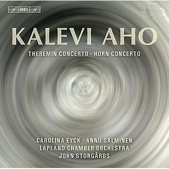 Aho/Salminen/Eyck/Lappland Chamber Orch - Theremin & Horn nackdelar [SACD] USA import
