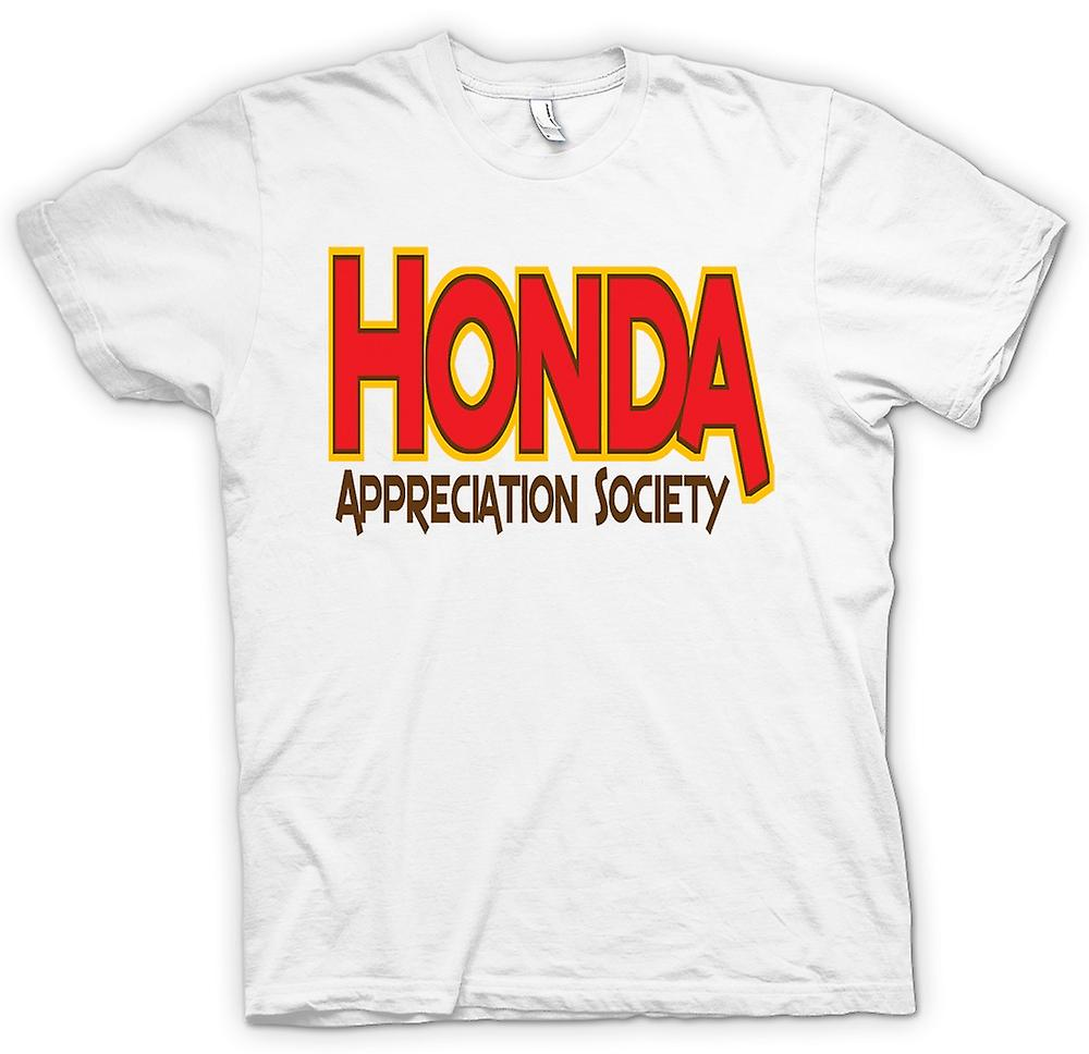 Herr T-shirt-Honda Appreciation Society