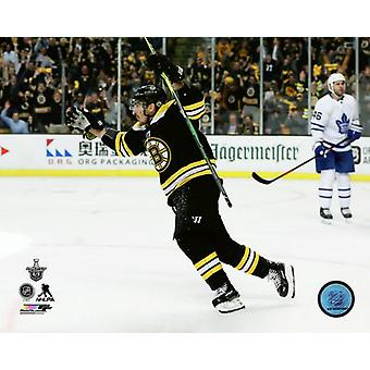 Brad Marchand 2017-18 Playoff Action Photo Print