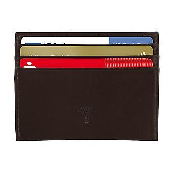 JOOP! Men credit card case card holder leather case dark brown 4874