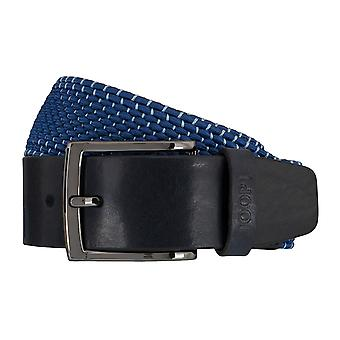 JOOP! Herr belt textil vävt bälte stretch blå 5935
