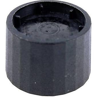 Cliff CL172877B Knob K12 Black 6mm Spl