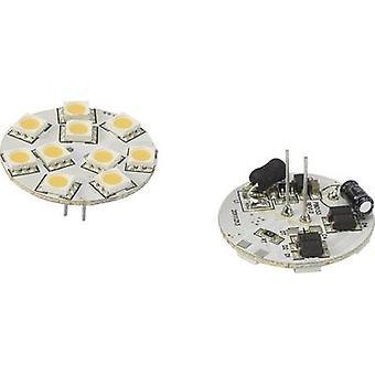 Renkforce LED (monokrom) G4 penn 1.5 W = 10 W varm hvit (Ø x L) 30 x 30 mm EEC: n/a 1 eller flere PCer