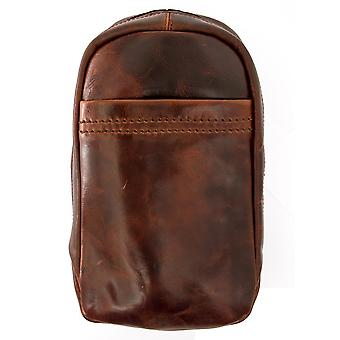 ae1f2614ed Ashwood Highbury Tanned Leather Sling Bag. New Ashwood Highbury Tanned  Leather Sling Bag  109. Ashwood Mens Ashwood Phil Leather Hanging Wash Bag