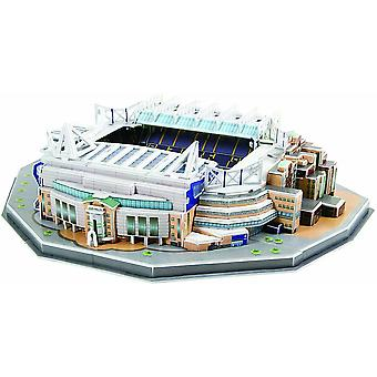 Chelsea Stamford Bridge Stadion 3D Jigsaw Puzzle