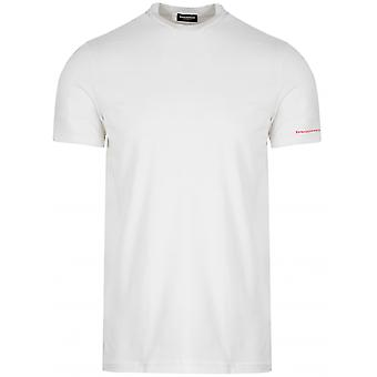 DSQUARED2 Underwear DSQUARED2 White Marl T-Shirt