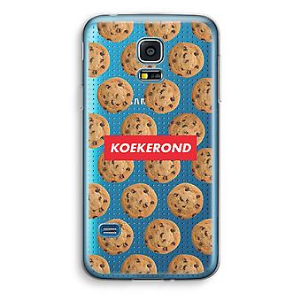 Samsung Galaxy S5 Mini Transparent Case (Soft) - Koekerond
