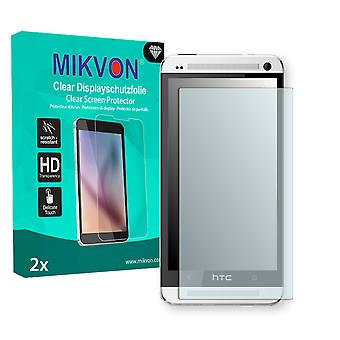HTC 801n Screen Protector - Mikvon Clear (Retail Package with accessories)