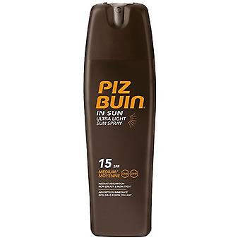 Piz Buin Ultra luz solar Spray SPF 15 200 ml