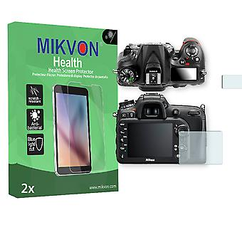 Nikon D7200 Screen Protector - Mikvon Health (Retail Package with accessories)