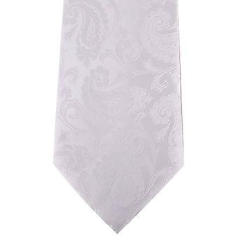 David Van Hagen Paisley Tie - biały