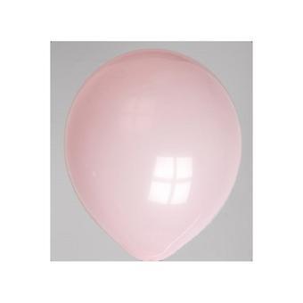 Globos ballonnen rond nr10 roze a 100st