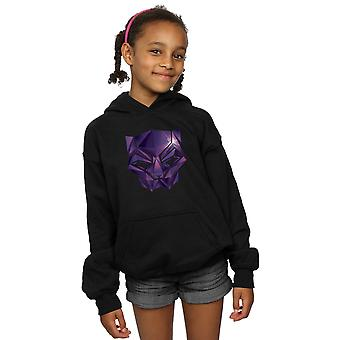 Marvel Girls Avengers Infinity War Black Panther Geometric Hoodie