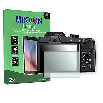 Nikon COOLPIX B500 Screen Protector - Mikvon Health (Retail Package with accessories)
