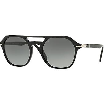 3206S New persol style black gray gradient