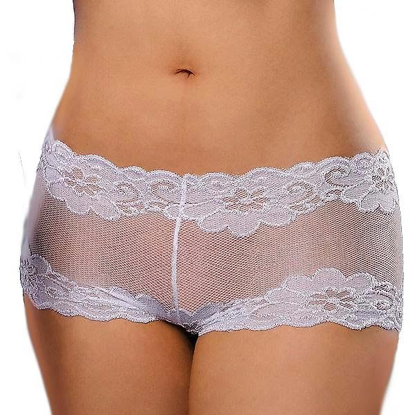Waooh 69 - Boxer White Stockings And Lace