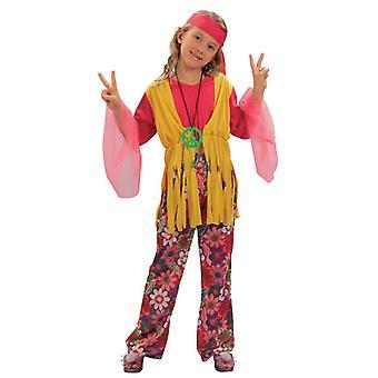 Hippie-Mädchen, Medium.