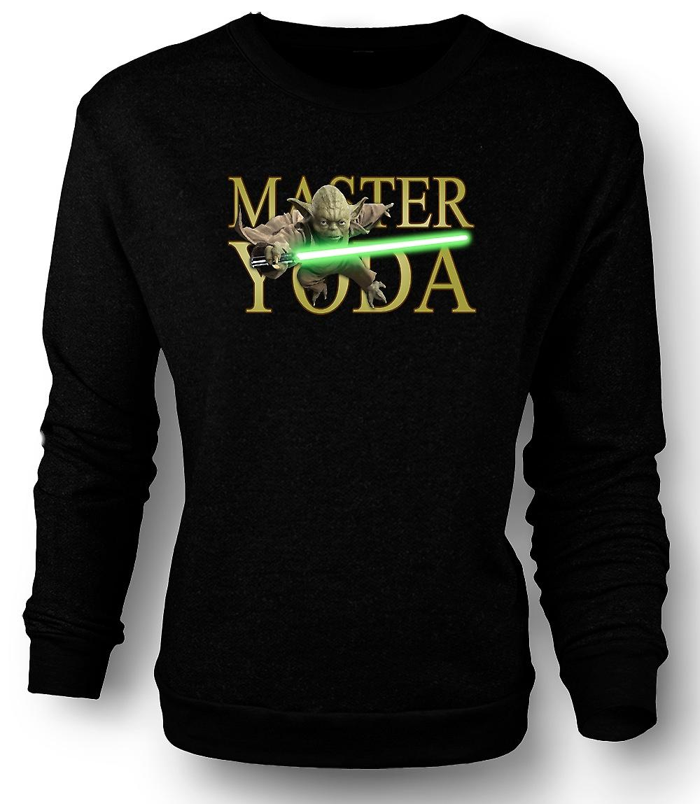 Mens Sweatshirt Maître Yoda - Jedi - Star Wars - film