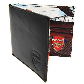 Arsenal FC Leather Panoramic Wallet