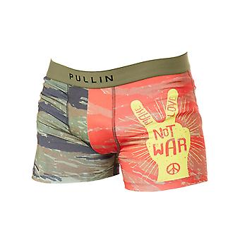 Pull-In Green-Red Rambo Boxer Shorts