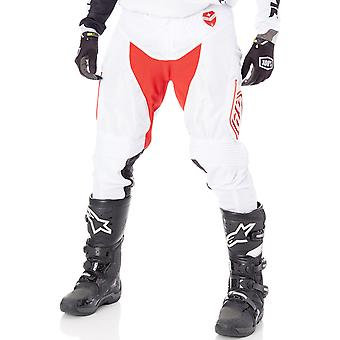 Troy Lee Designs Red-White 2017 SE Air Starburst MX Pant