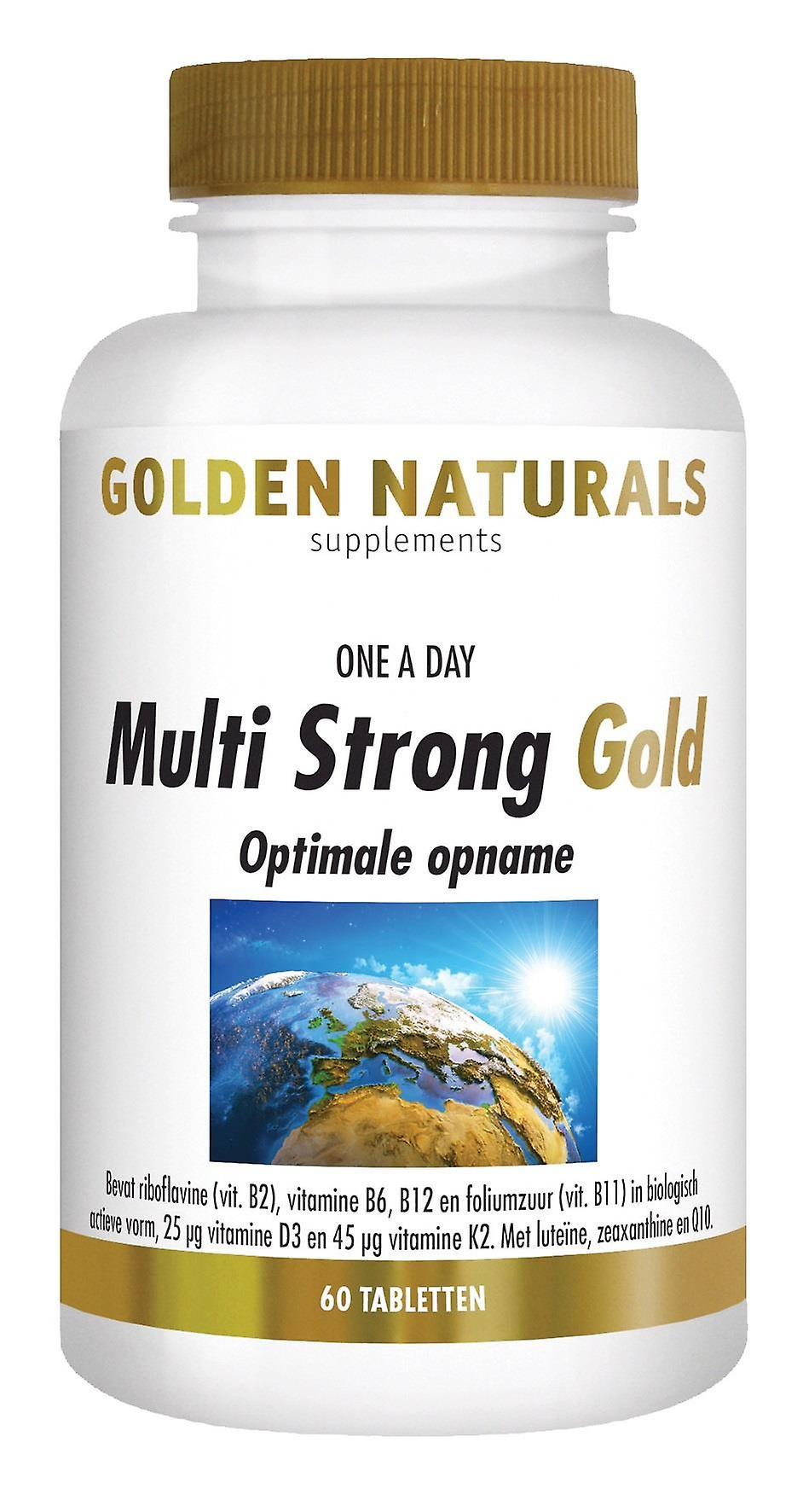 Golden Naturals Multi Strong Gold (60 tablets)