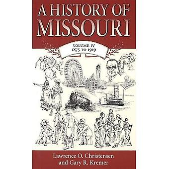 History Of Missouri 1875 To 1919