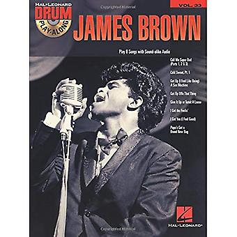 James Brown : Tambour Play-Along Volume 33 (Hal Leonard Drum Play-Along)